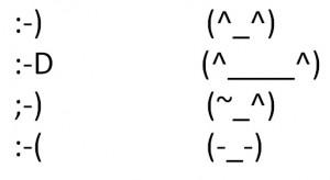 130213 300x164 英語の顔文字はどうしてこんな記号なのか :)  :D