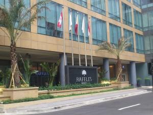 DSC 1434 300x225 マニラにある最高級ホテル ラッフルズホテル