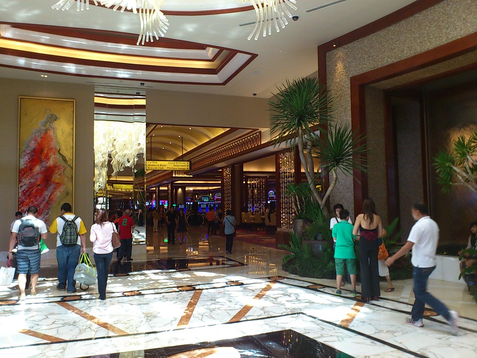 DSC 1864 マニラに出来た新しいカジノリゾート Solaire Resorts & Casino