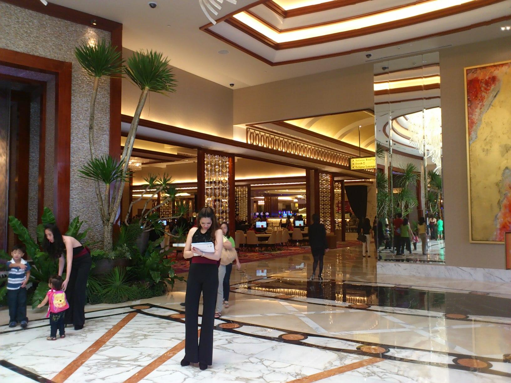 DSC 1865 マニラに出来た新しいカジノリゾート Solaire Resorts & Casino