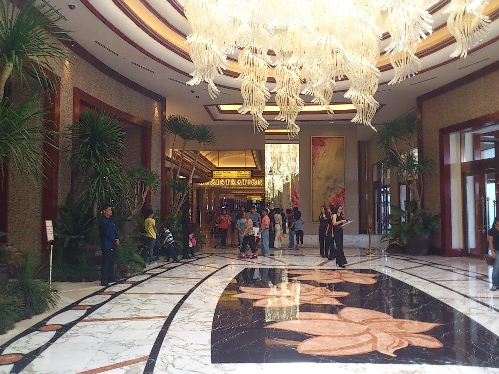 DSC 1869 マニラに出来た新しいカジノリゾート Solaire Resorts & Casino