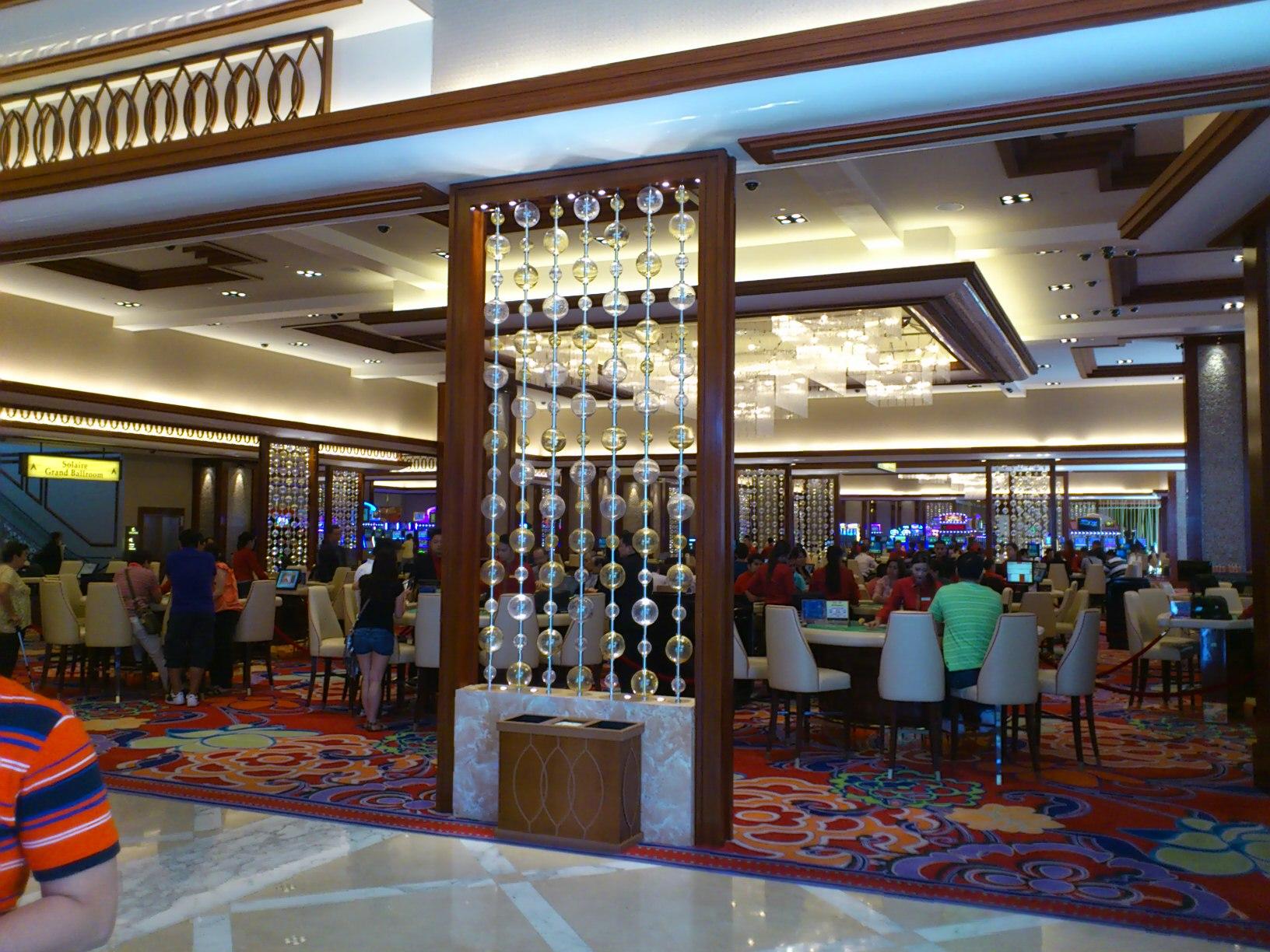 DSC 1871 マニラに出来た新しいカジノリゾート Solaire Resorts & Casino