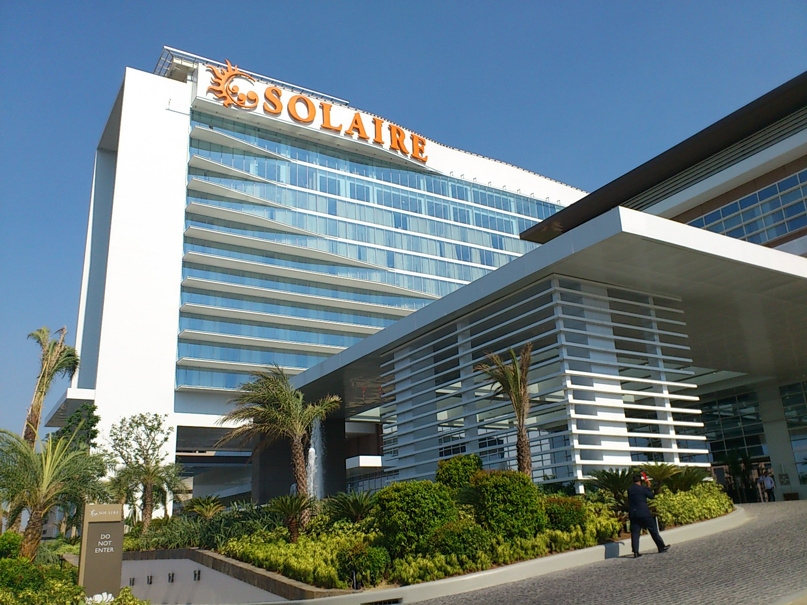 DSC 1879 マニラに出来た新しいカジノリゾート Solaire Resorts & Casino