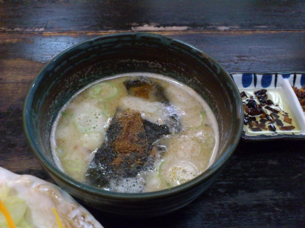 DSC 2144 1024x768 「相撲茶や関取」のとんこつつけ麺