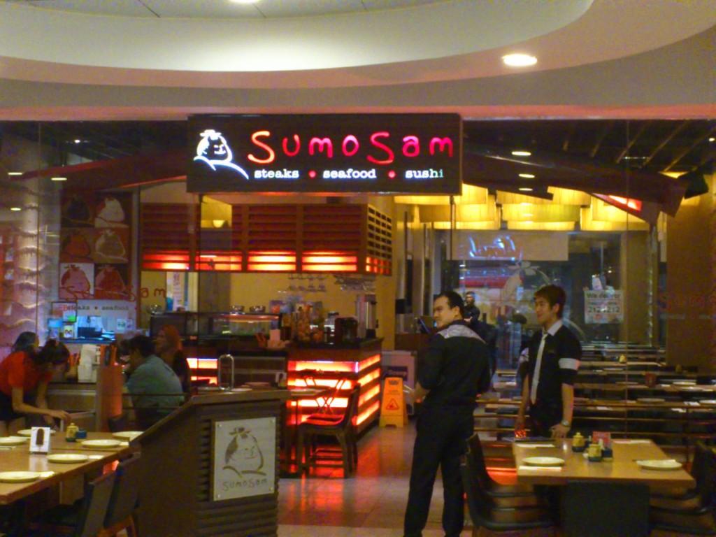 DSC 2306 1024x768 相撲さん?相撲サム? Sumosam という日本食チェーン店に行ってみた