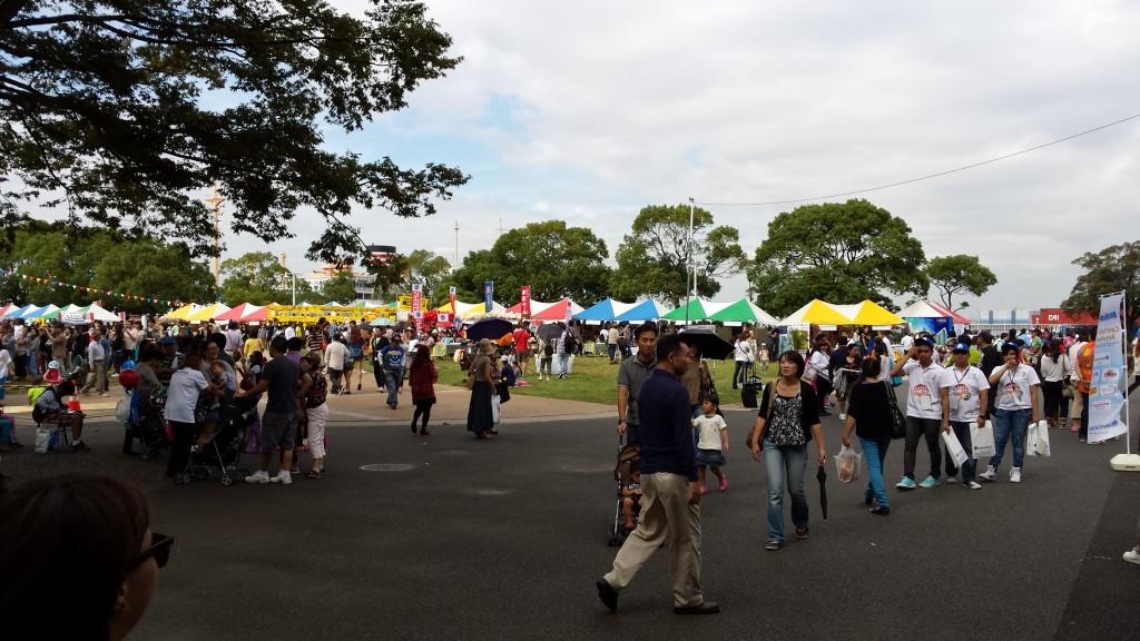 20130928 134336 1024x576 日本最大のフィリピンイベント BARRIO FIESTA
