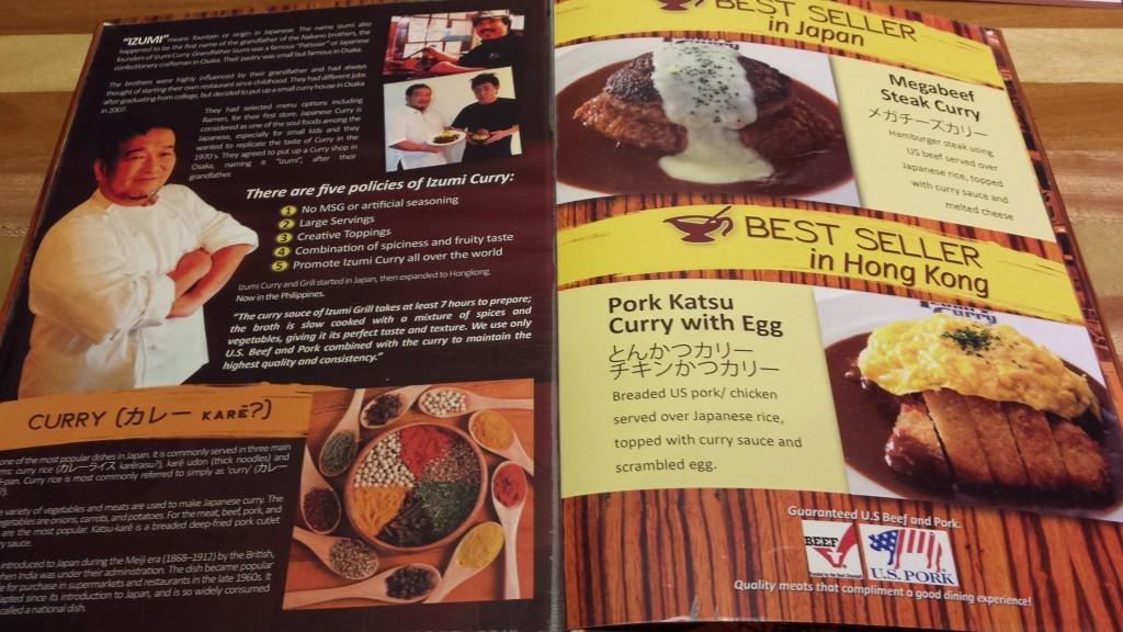 20131203 201210 1024x576 マニラにできたカレー屋 Izumi Curry に行ってきた