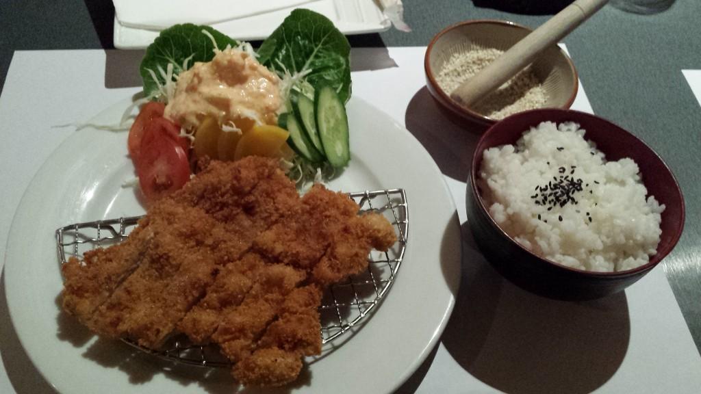 20131208 205803 1024x576 マニラのBonifacio Global City にあるKatsuという日本食レストランに行ってみたが・・・