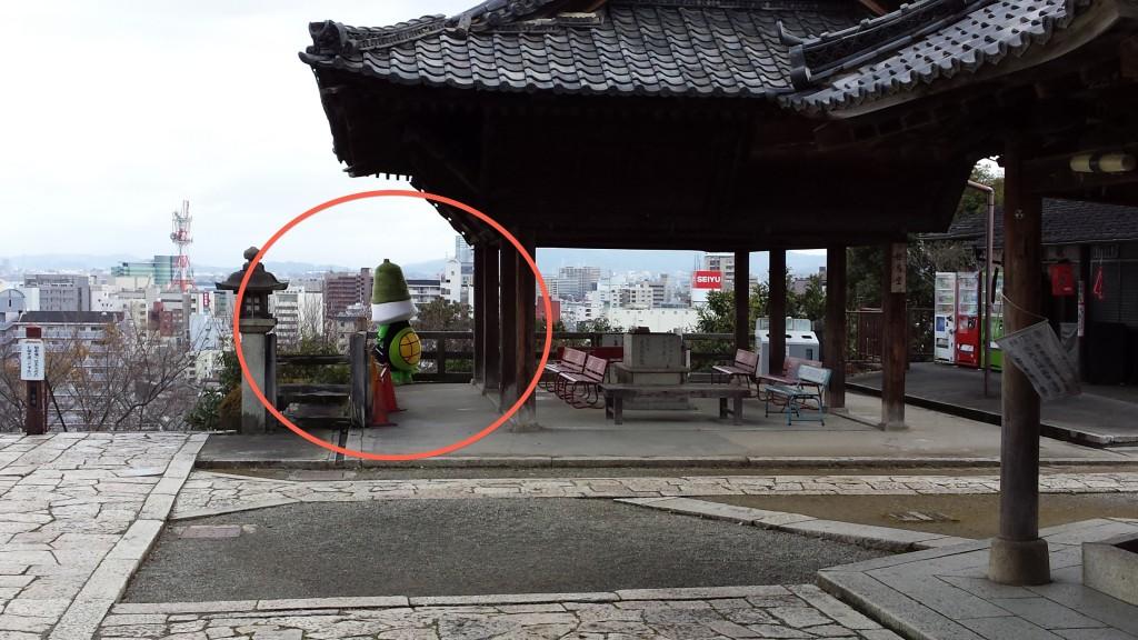 20131216 1258401 1024x576 三井寺のゆるキャラがあまりにもゆるかった