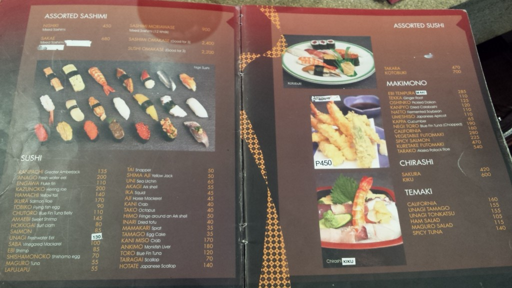 20140223 124557 1024x576 マニラで刺身を食べてみたら・・・