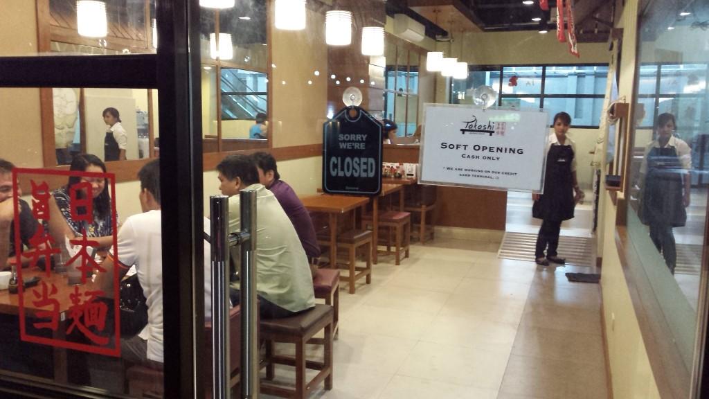 20140624 221915 1024x576 マニラの日本人シェフが立ち上げたラーメン屋 Takashi Japanese Restaurant