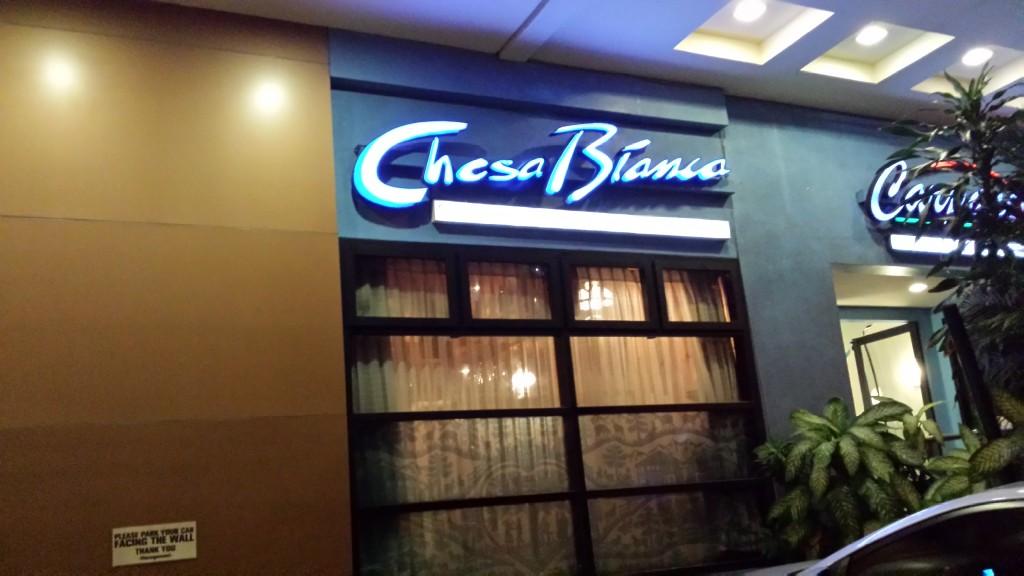 20140813 191740 1024x576 マニラのおいしいスイス料理 Chesca Bianca