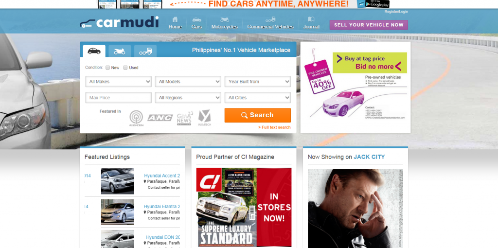 carmudi 1024x510 巨大資本企業Rocket Internetのフィリピンにおけるネット事業展開状況