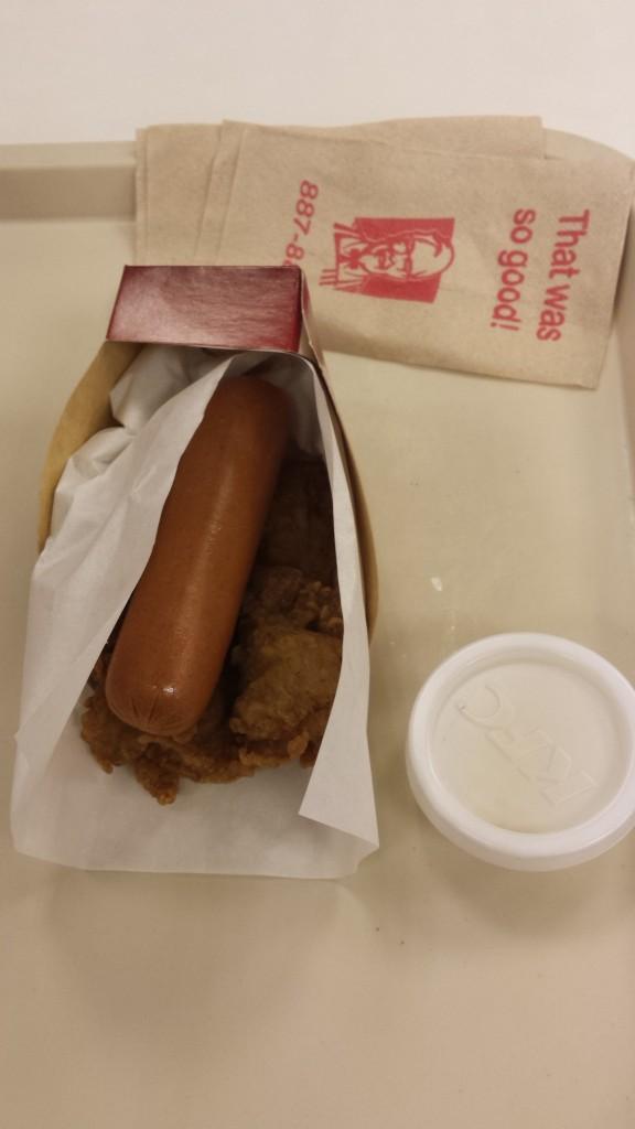 20150215 184415 576x1024 フィリピン限定KFCメニュー ダブルダウンドッグを試してみた