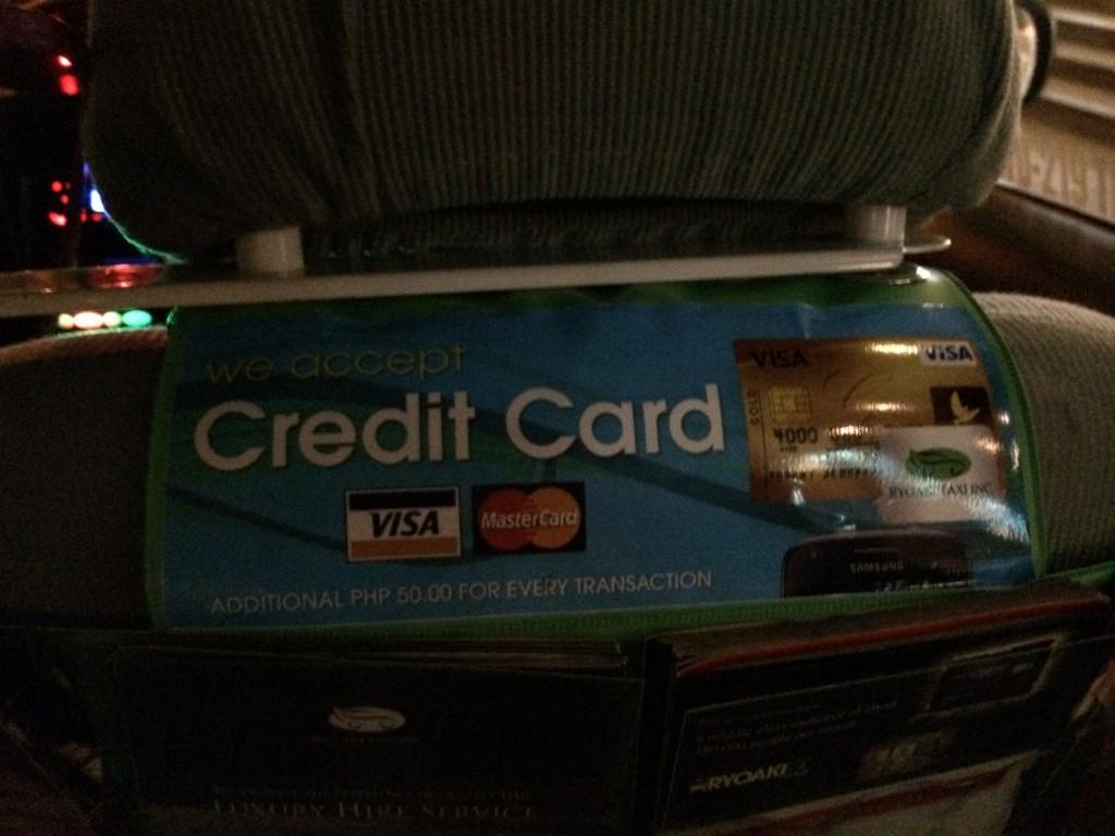 2015 02 17 19.22.17 1024x768 マニラのRyoAkiタクシーのクレジットカード決済を試してみた