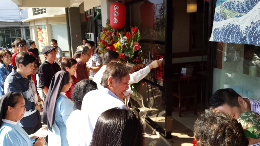 2015 03 01 15.11.11 1024x576 マニラの日本食レストランTakashiがグランドオープン!セレモニーに参加してきた