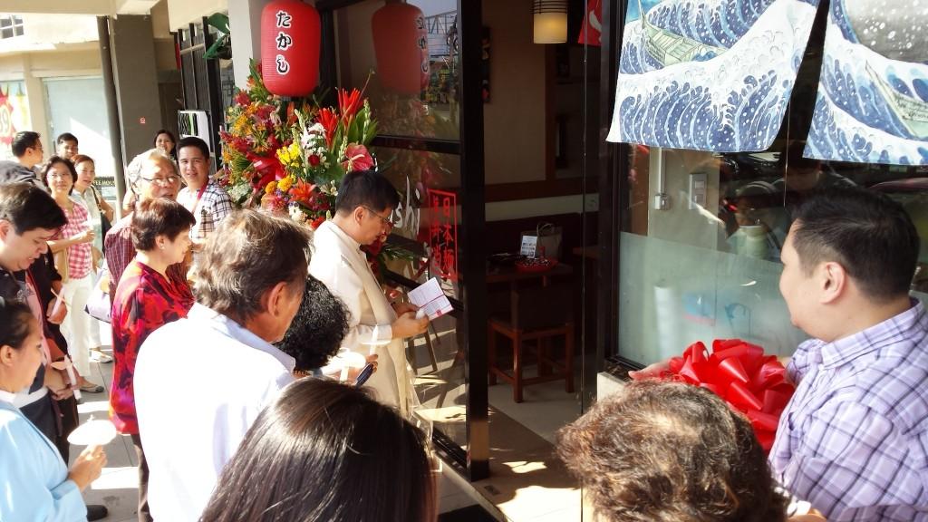 2015 03 01 15.11.14 1024x576 マニラの日本食レストランTakashiがグランドオープン!セレモニーに参加してきた