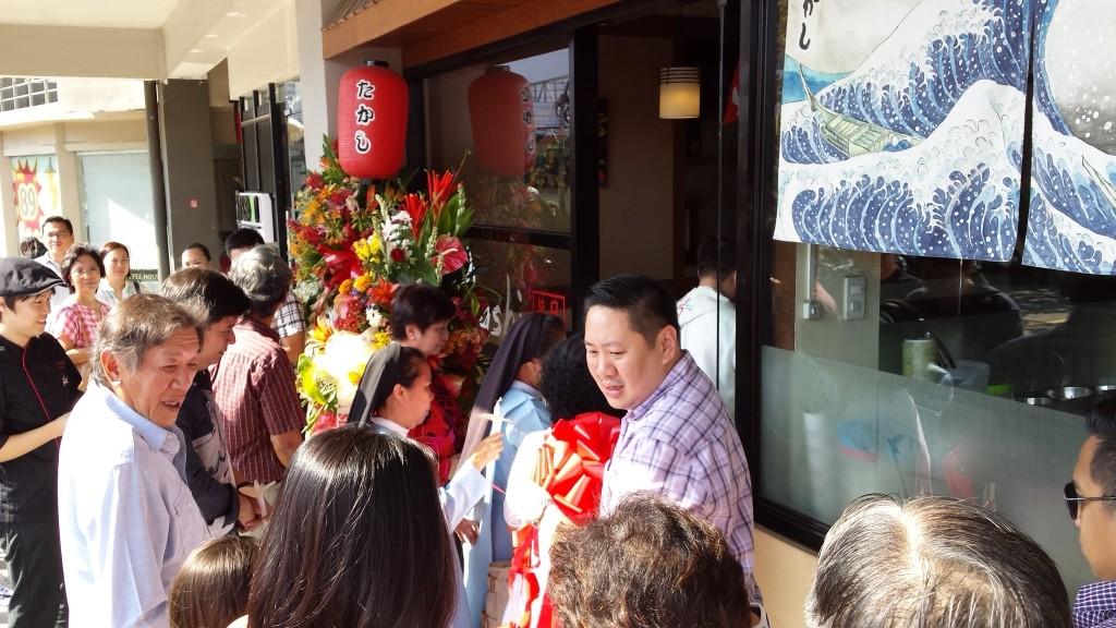 2015 03 01 15.11.20 1024x576 マニラの日本食レストランTakashiがグランドオープン!セレモニーに参加してきた
