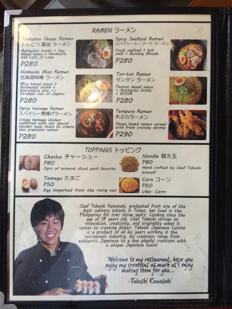 2015 03 01 15.34.56 768x1024 マニラの日本食レストランTakashiがグランドオープン!セレモニーに参加してきた