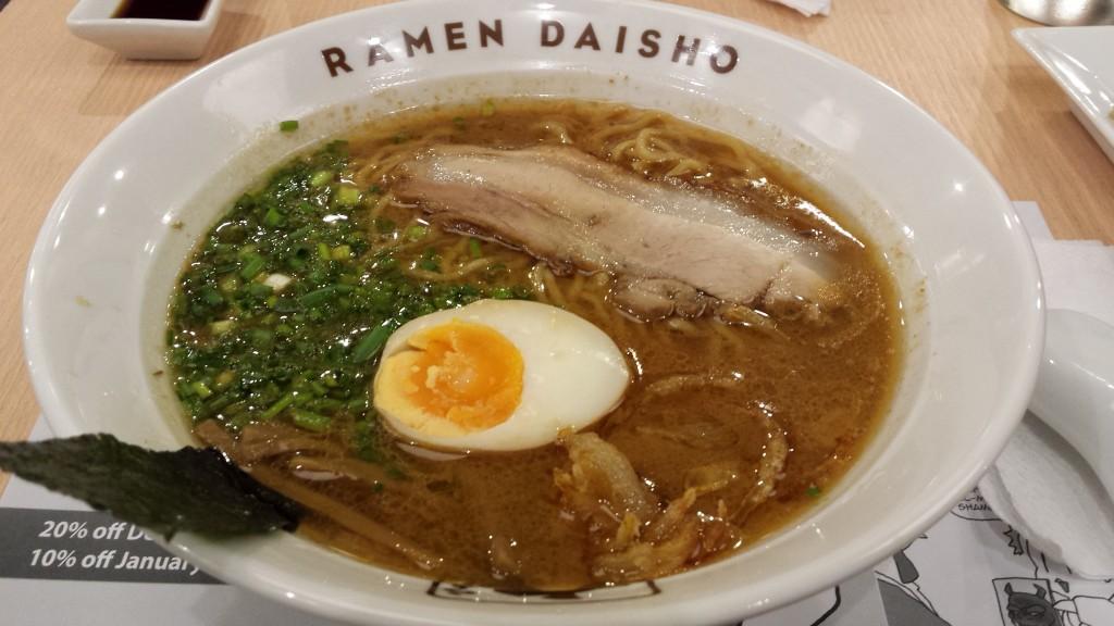 daisho Top 10 Metro Manila Ramen Ranking 2015